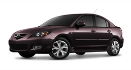 Mazda Mazda3 Purple Phantom